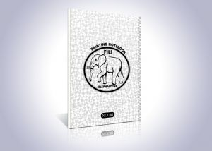 20 برگ فیلی نقاشی با موم بین ورق ها